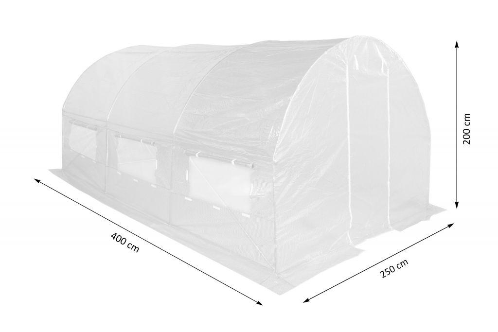 Fóliovník 250 cm x 400 cm (10 m2) bílý