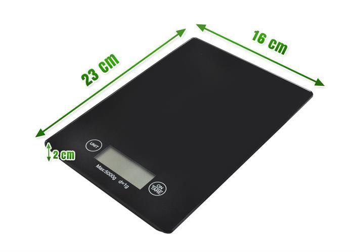 Moderní digitální kuchyňská váha