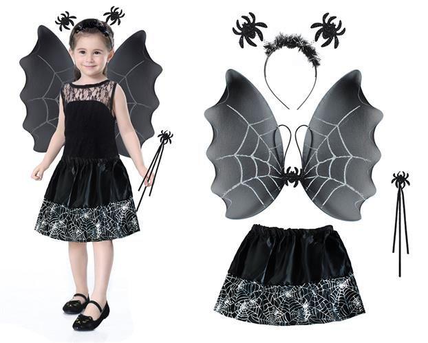 Kostým čarodějka - černá