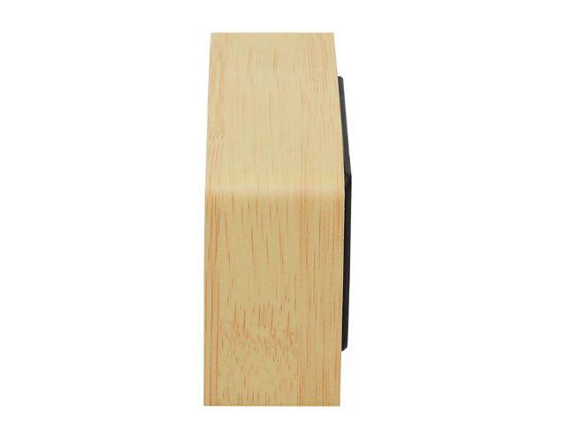 Dřevěný digitální LED budík
