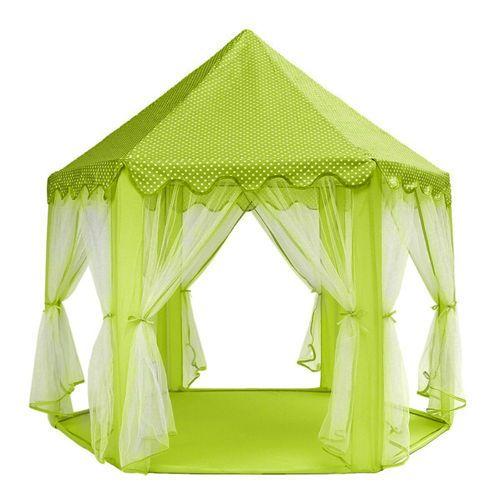Dětský stan Zámek – zelený
