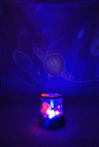 LED projektor soustavy planet