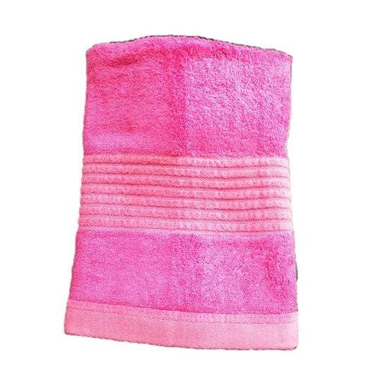 Ručník Paris – růžová 50×100 cm
