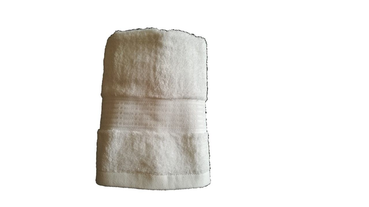 Ručník Berlín – bílá  50×100 cm