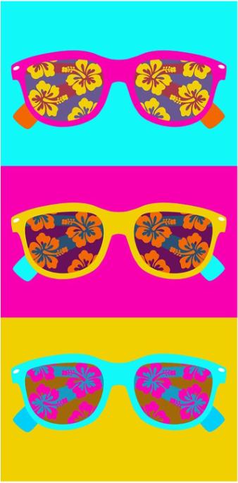 Plážová osuška – 70×150 cm