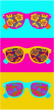 Plážová osuška - 70x150 cm