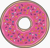 Osuška plážová kulatá - Donut