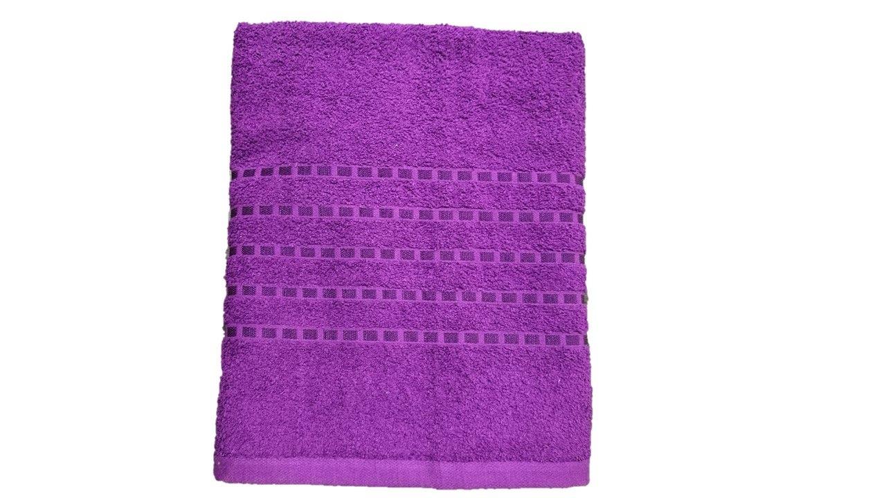 Osuška Proužek – Stripe fialová