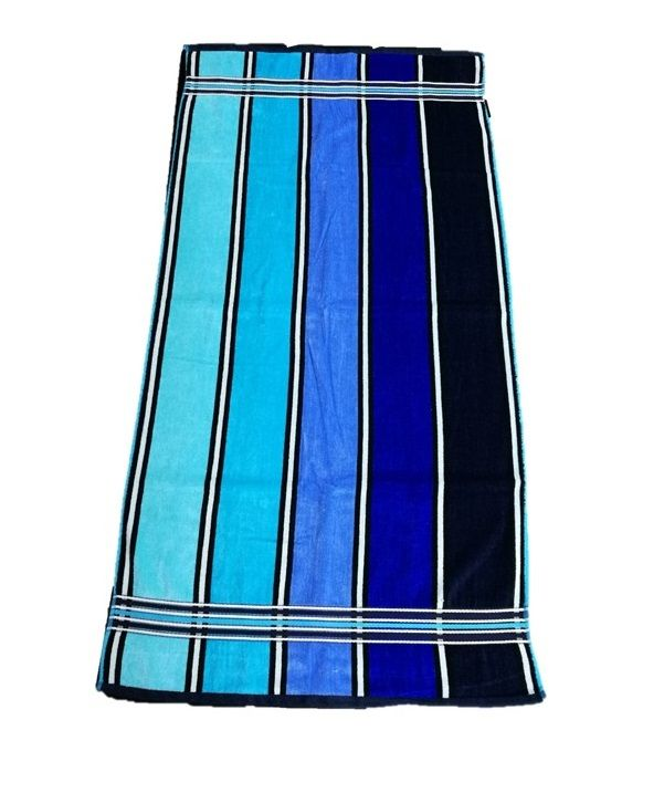 Osuška Rainbow - 70x140, modrá