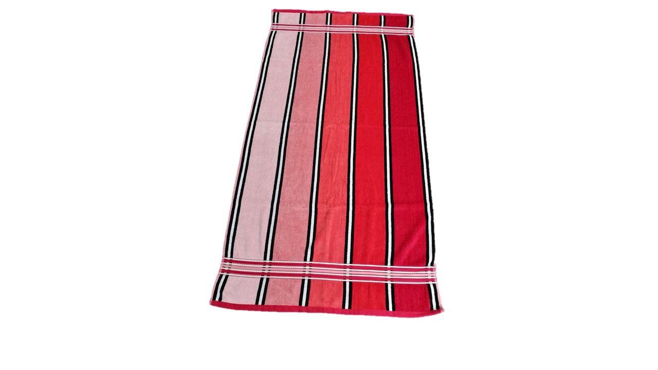Osuška Rainbow – 70×140, červená