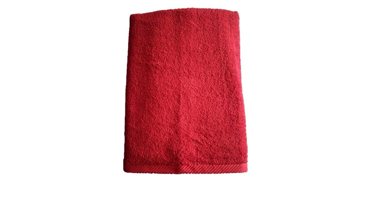 Osuška Unica – 70×140, červená