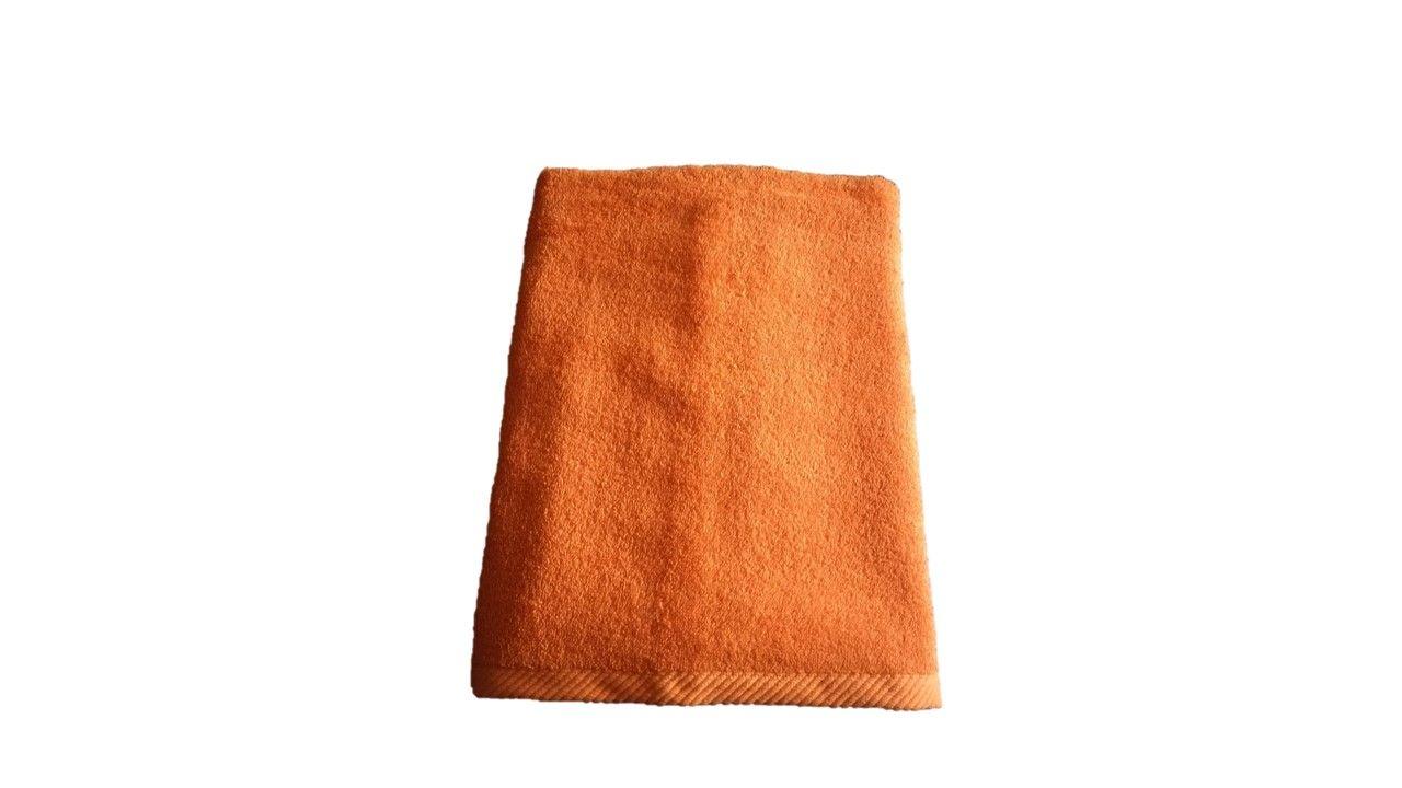 Osuška Unica - 70x140, oranžová