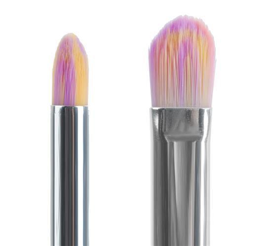 Sada kosmetických štětců - 10 ks- jednorožec