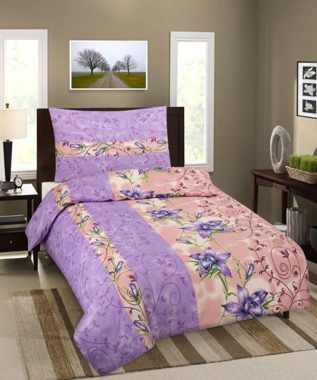 Bavlněné ložní povlečení Premium Violet