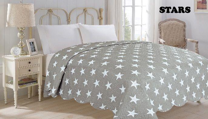 Přehoz přes postel STARS 220 x 240 cm