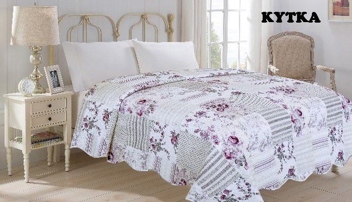 Přehoz přes postel FLOWER 220 x 240 cm