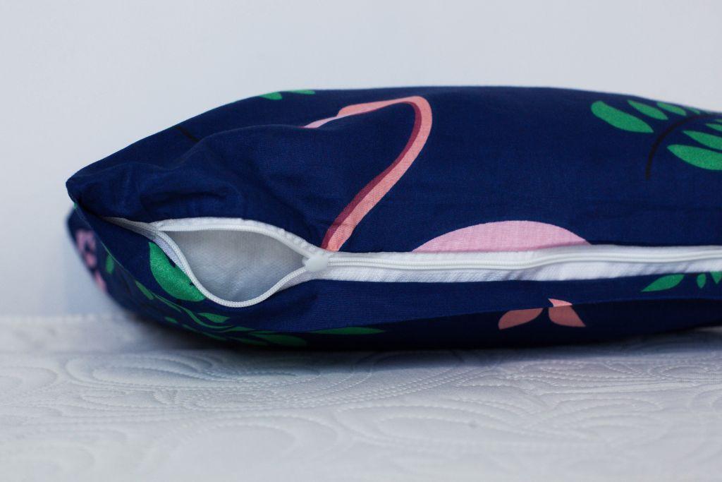 Bavlněné ložní povlečení 3 dílné Dita – Flamingo