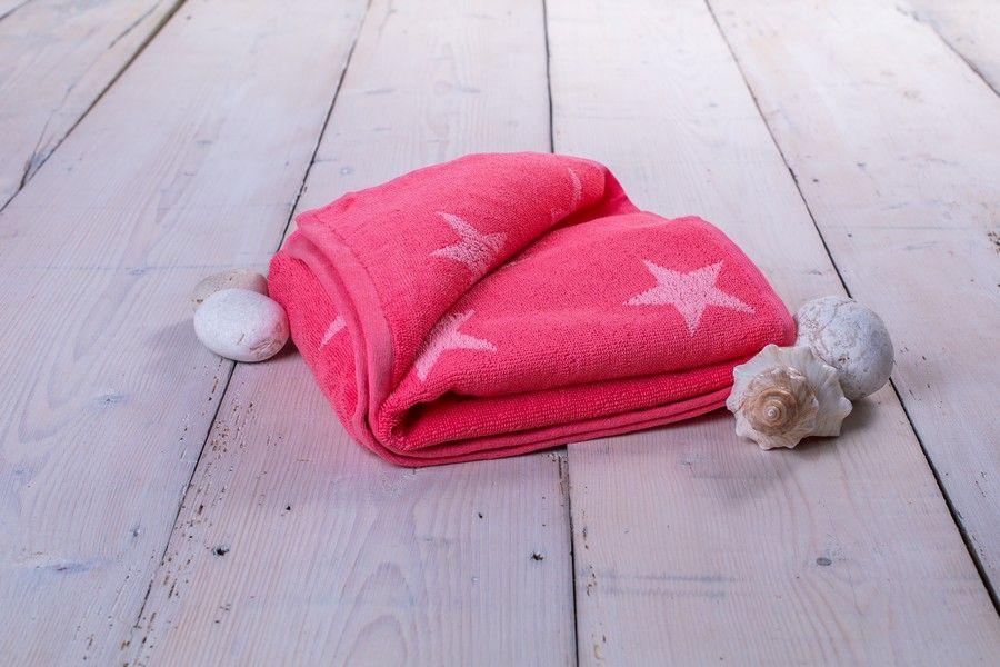 Ručník Stars - 50 x 100 cm, růžová