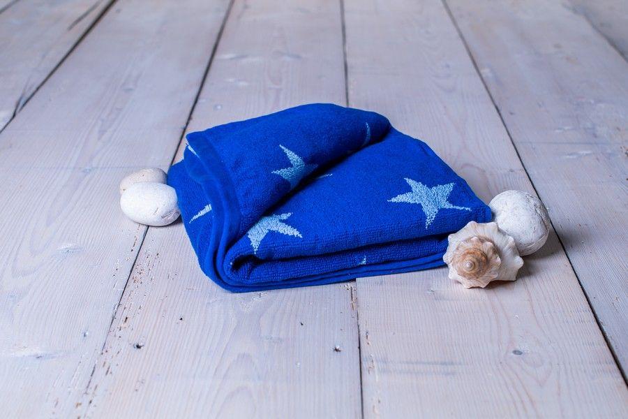 Ručník Stars - 50 x 100 cm, král.modrá