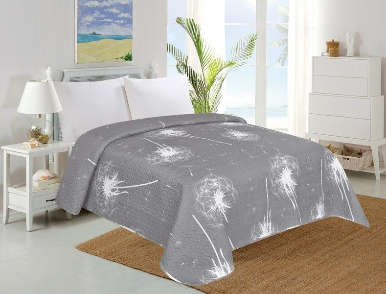Přehoz na postel Dandelion, pampelišky - 140 x 220 cm