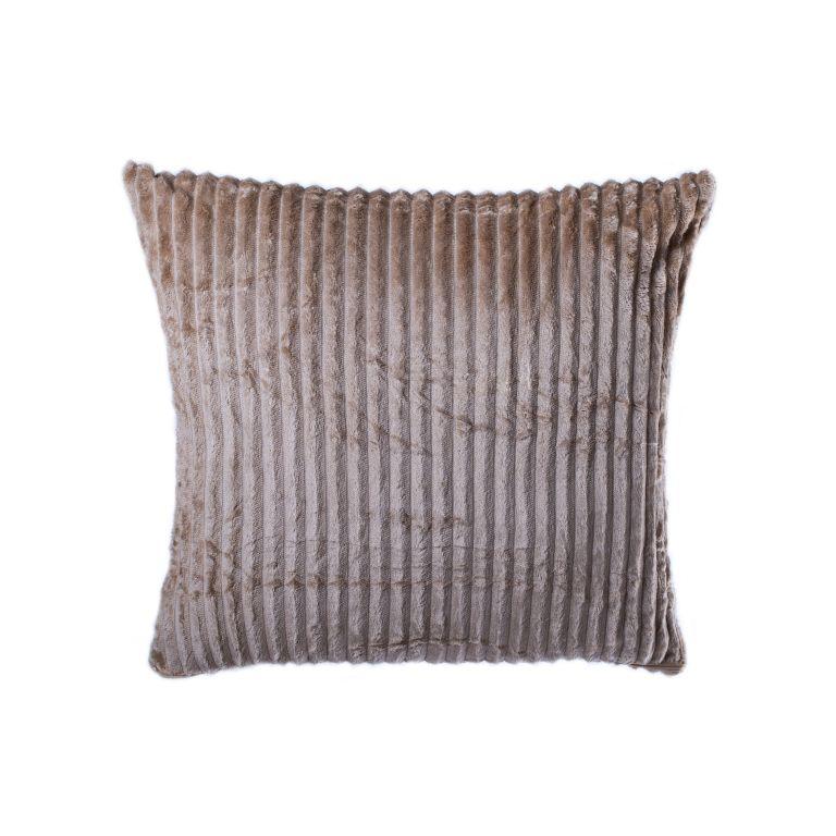 Povlak na polštář Alex, hnědá, 45 x 45 cm