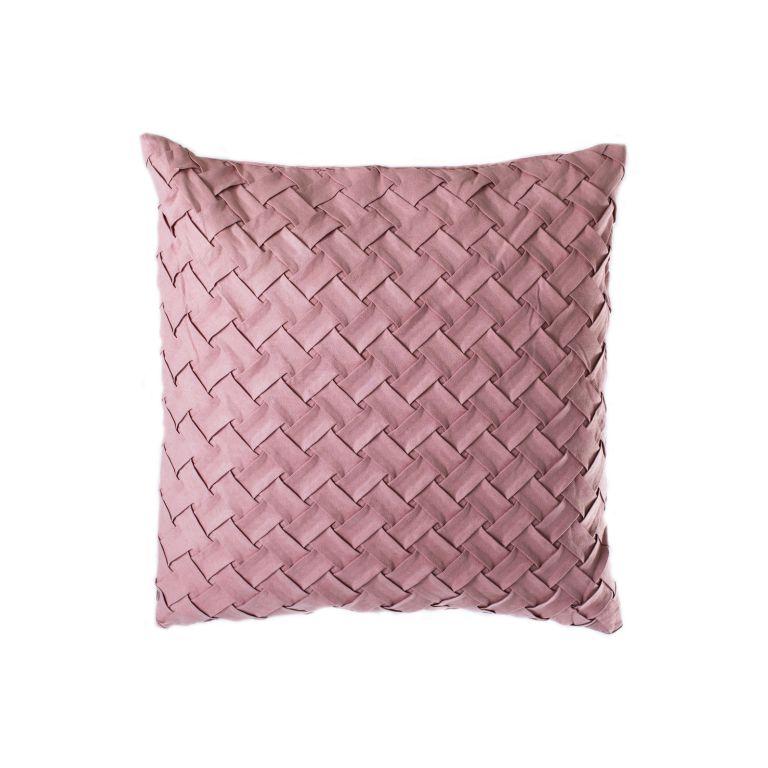 Povlak na polštář Gama, 45 x 45 cm, růžová