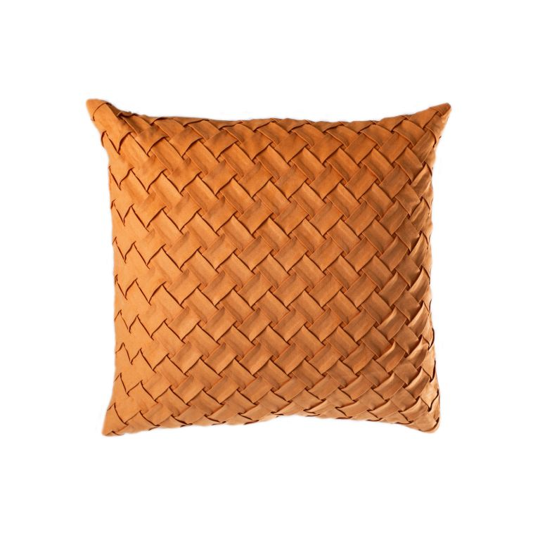 Povlak na polštář Gama, 45 x 45 cm, oranžová