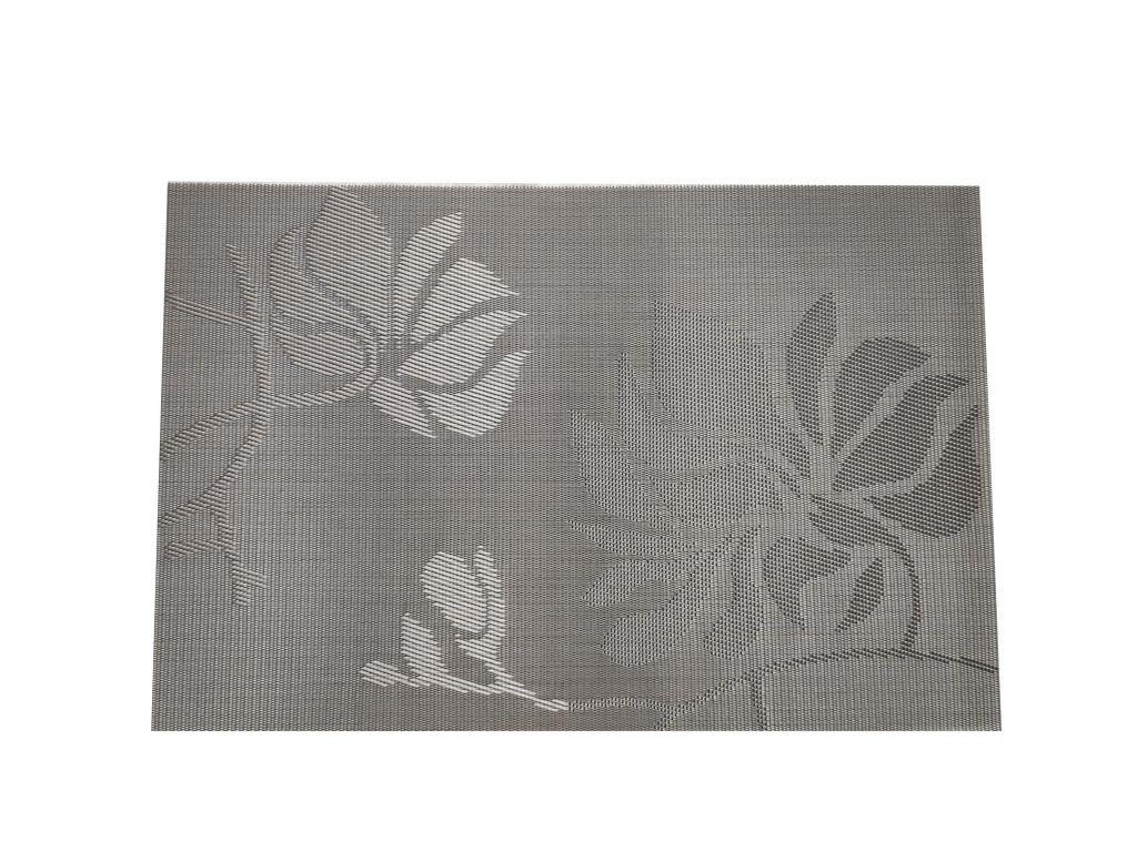 Prostírání Adél, stříbrná - 30 x 45 cm
