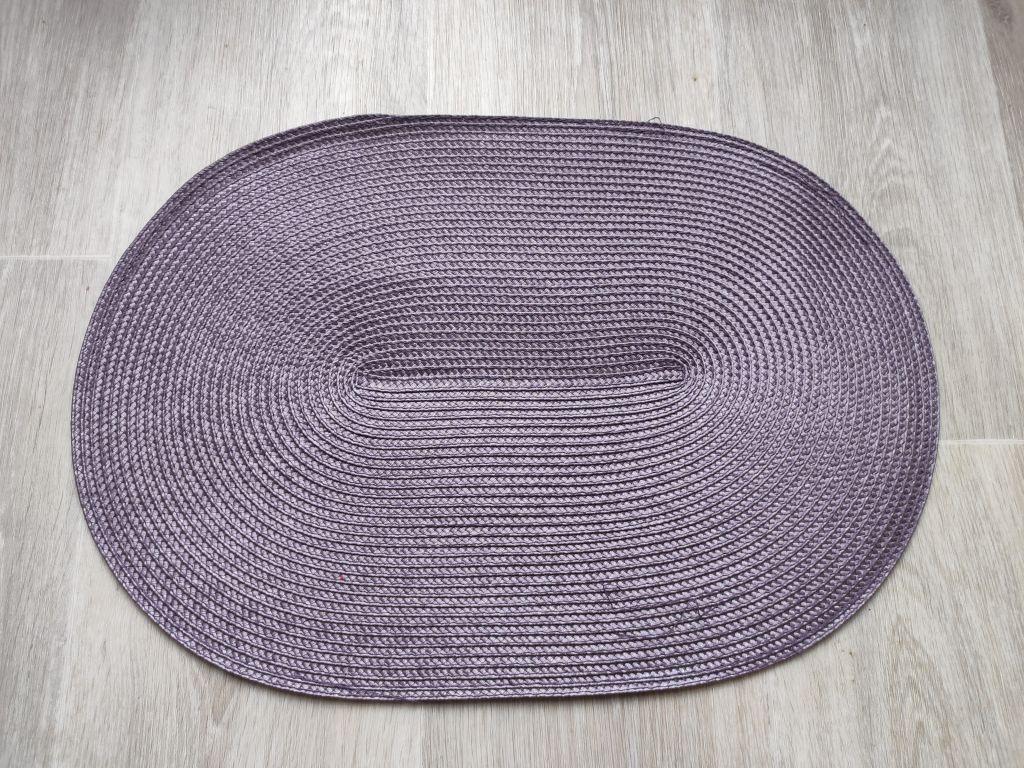 Prostírání oválné - fialová
