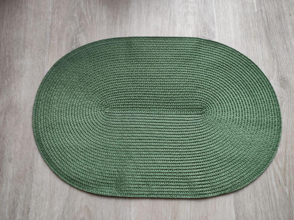 Prostírání oválné - zelená