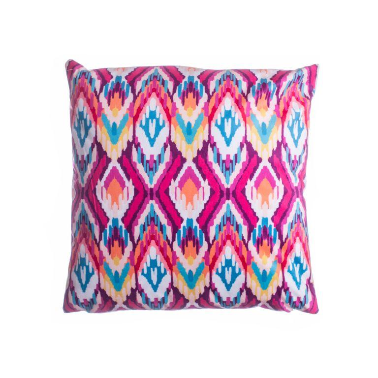 Povlak na polštář Aztek fialový - 45 x 45 cm