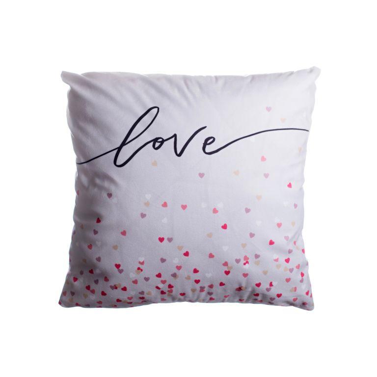 Povlak na polštář Love - 45 x 45 cm