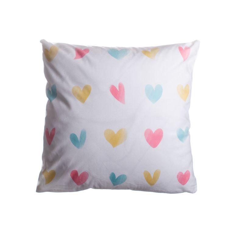 Povlak na polštář Love, malá srdce - 45 x 45 cm