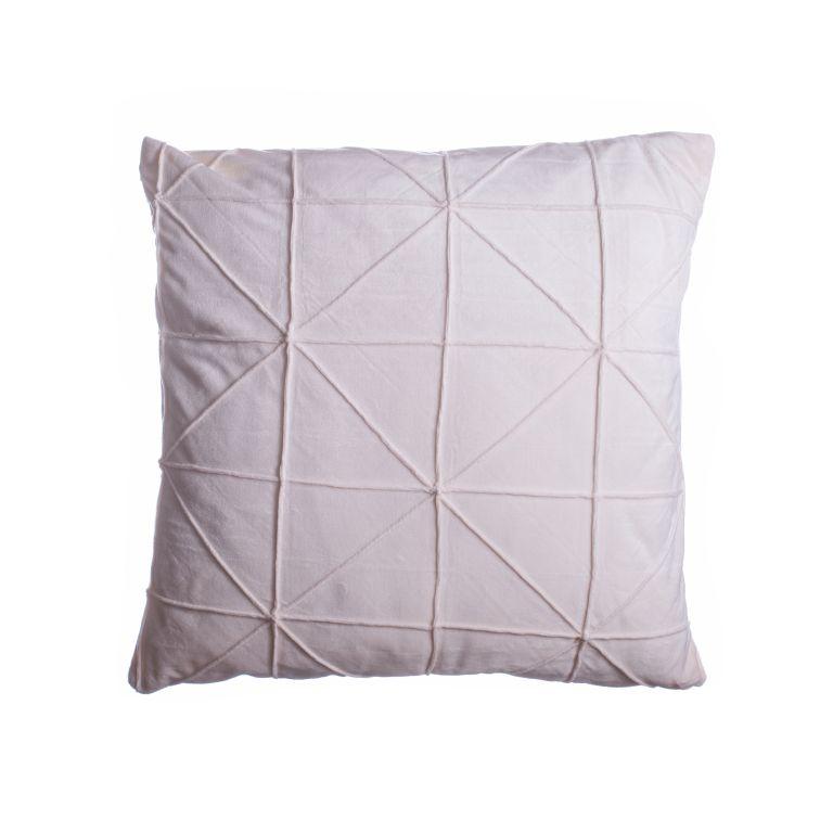 Povlak na polštář Amy, 45 x 45 cm, béžová