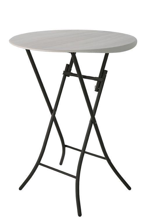 Skládací cateringový párty stolek - 84 x 84 x 110 cm