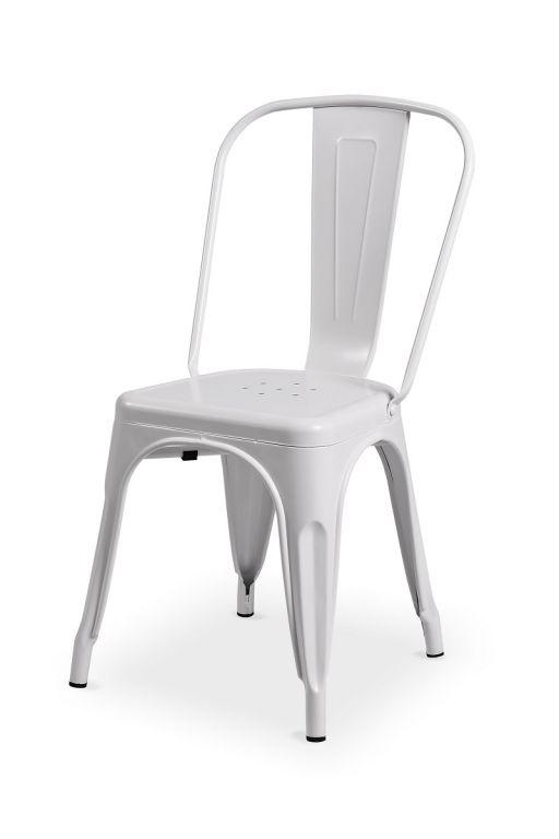 Bistro židle Paris inspirovaná TOLIX - bílá