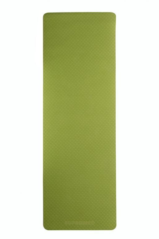 Podložka na jógu 183 x 61 x 0,5 cm - ZELENÁ