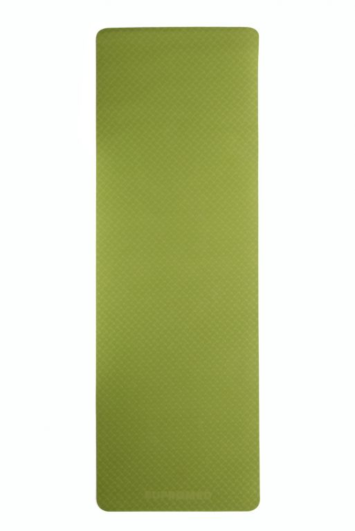 Podložka na jógu 183 x 61 x 0,6 cm - ZELENÁ