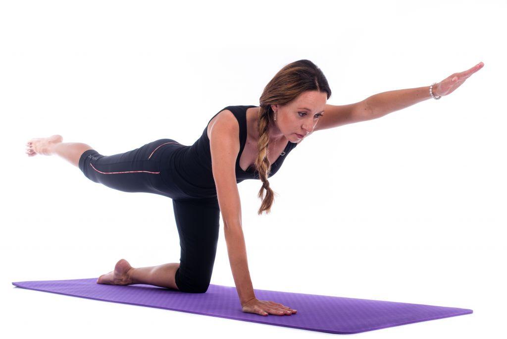 Dvouvrstvá podložka na jógu