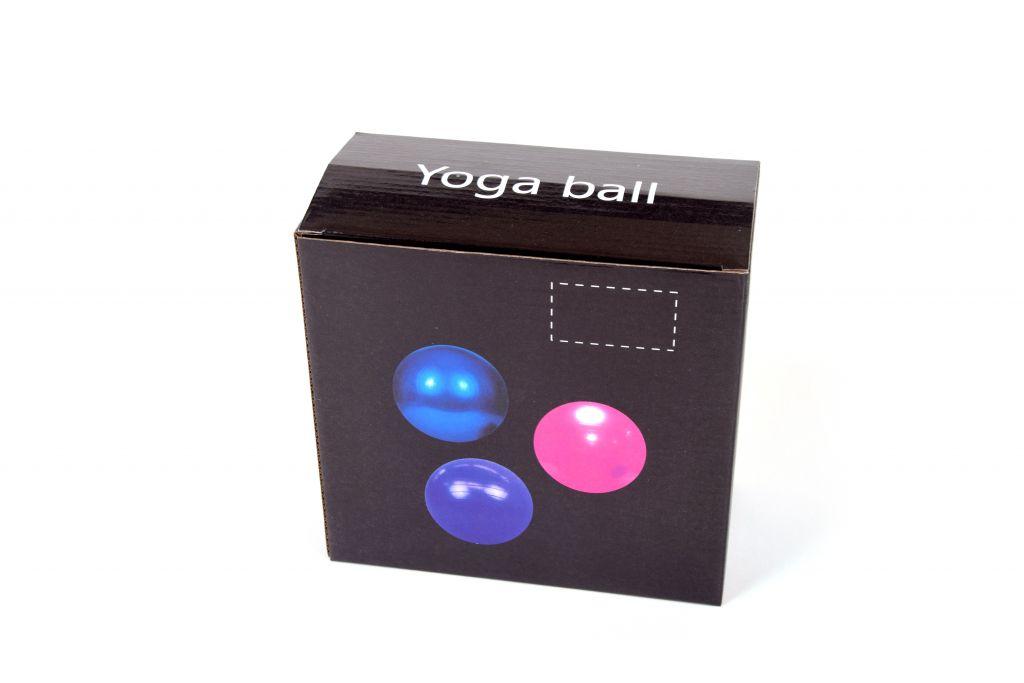 Gymnastický míč GYM BALL - 75 cm ŠEDÝ