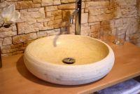 Kamenné umyvadlo z mramoru Aidos