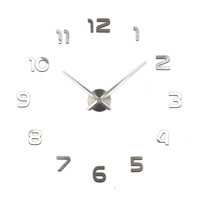 Samolepící nástěnné hodiny Toledo