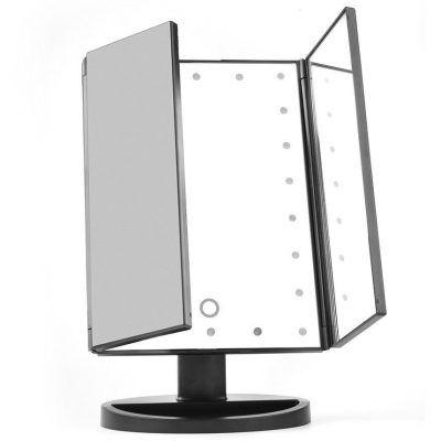 Kosmetické zrcátko s LED diodami