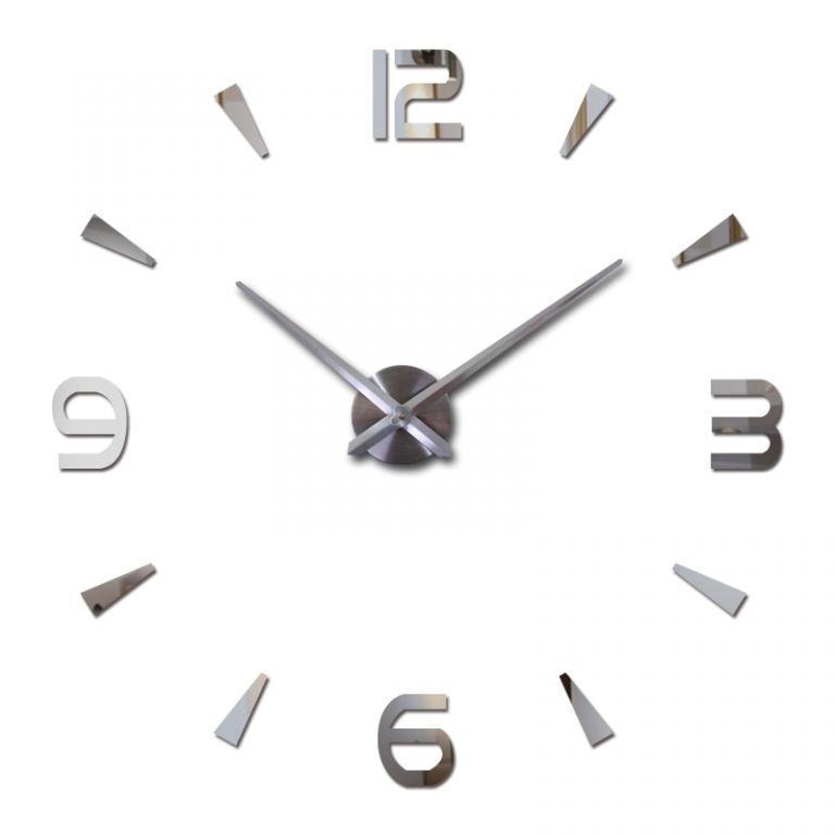 Samolepící nástěnné hodiny Mesa