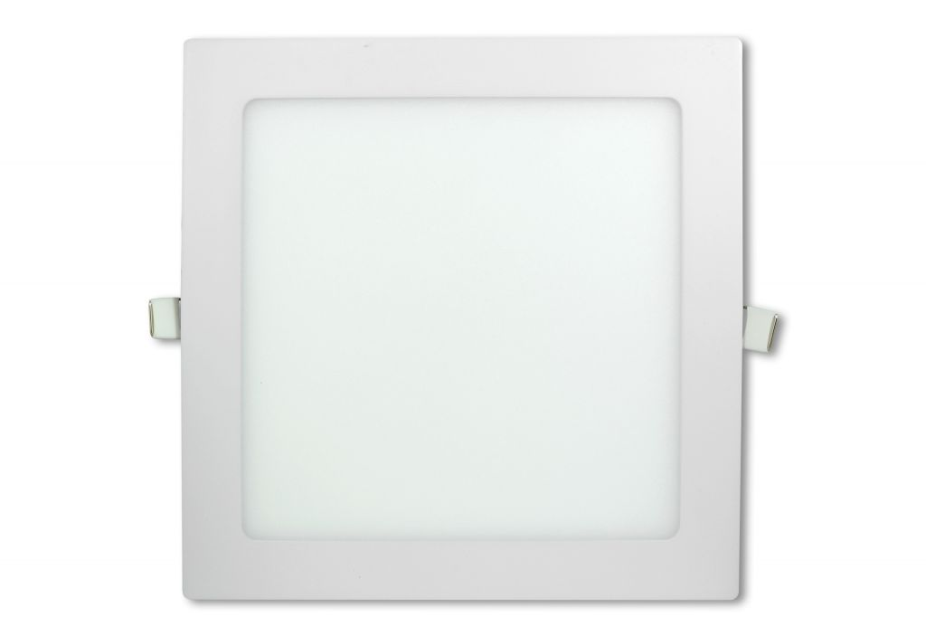 LED stropní panel čtvercový 18 W, neutrální bílá