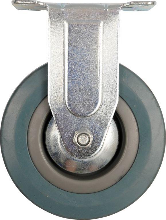 Kolečko pevné, gumové - 45 kg, 100/26/134 mm