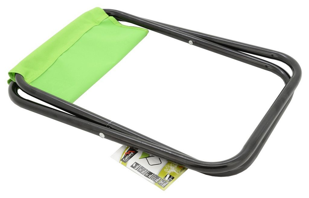 Kempingová skládací židle MILANO – zelená