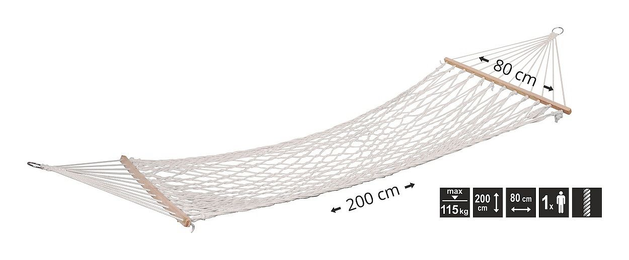Houpací síť 200x80cm