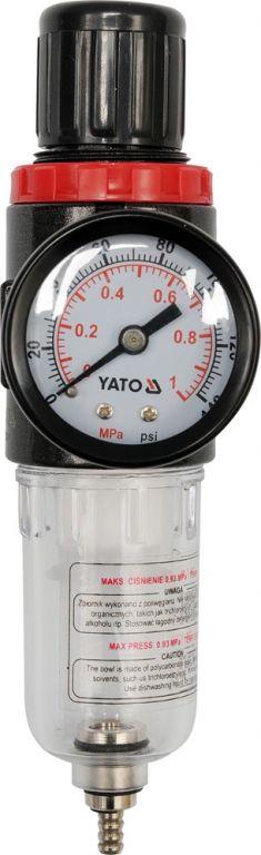 "Regulátor tlaku vzduchu s filtrem 1/4"""