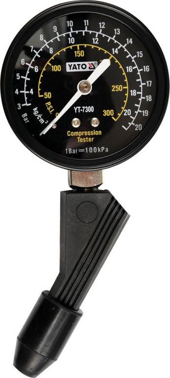 Měřící přístroj kompresního tlaku – plastový